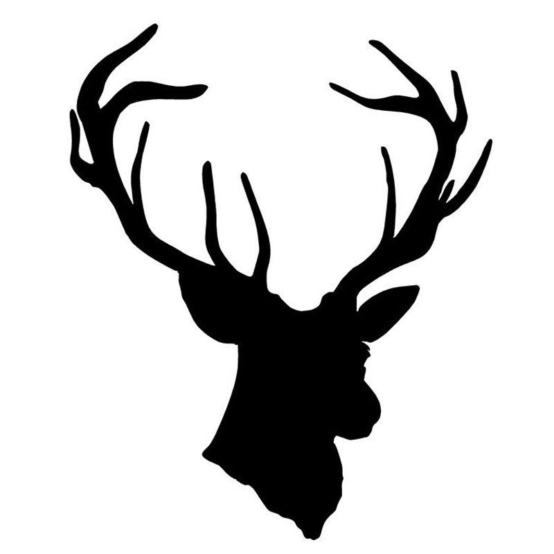 Deer Hunting Silhouette