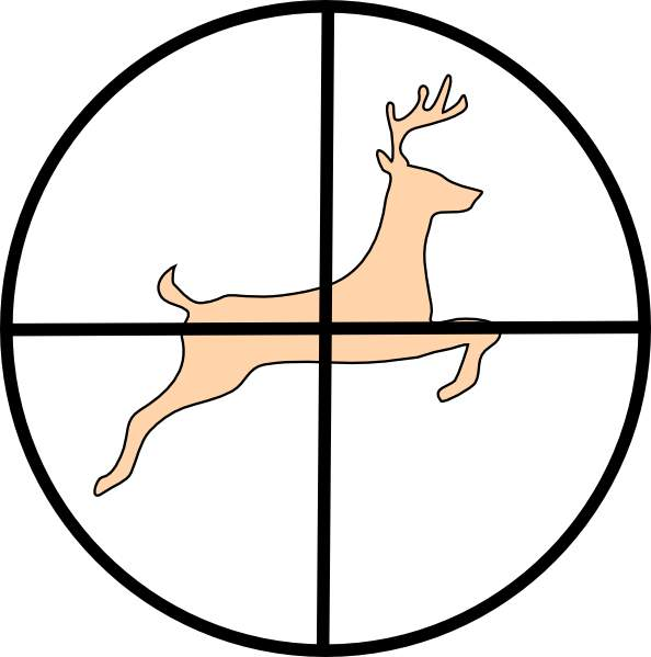 594x599 Deer Hunting Silhouette Quotes Free Image