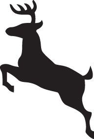 192x285 Jumping Deer Silhouette (42) Tattoo Ideas