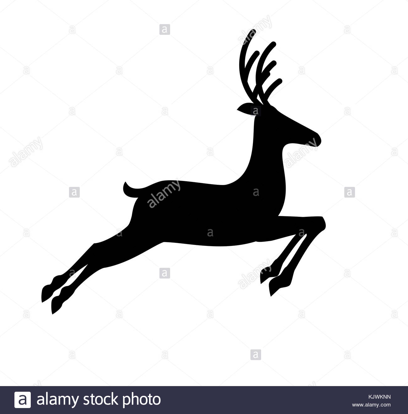 1300x1320 Silhouette Of Deer Running Stock Photos Amp Silhouette Of Deer