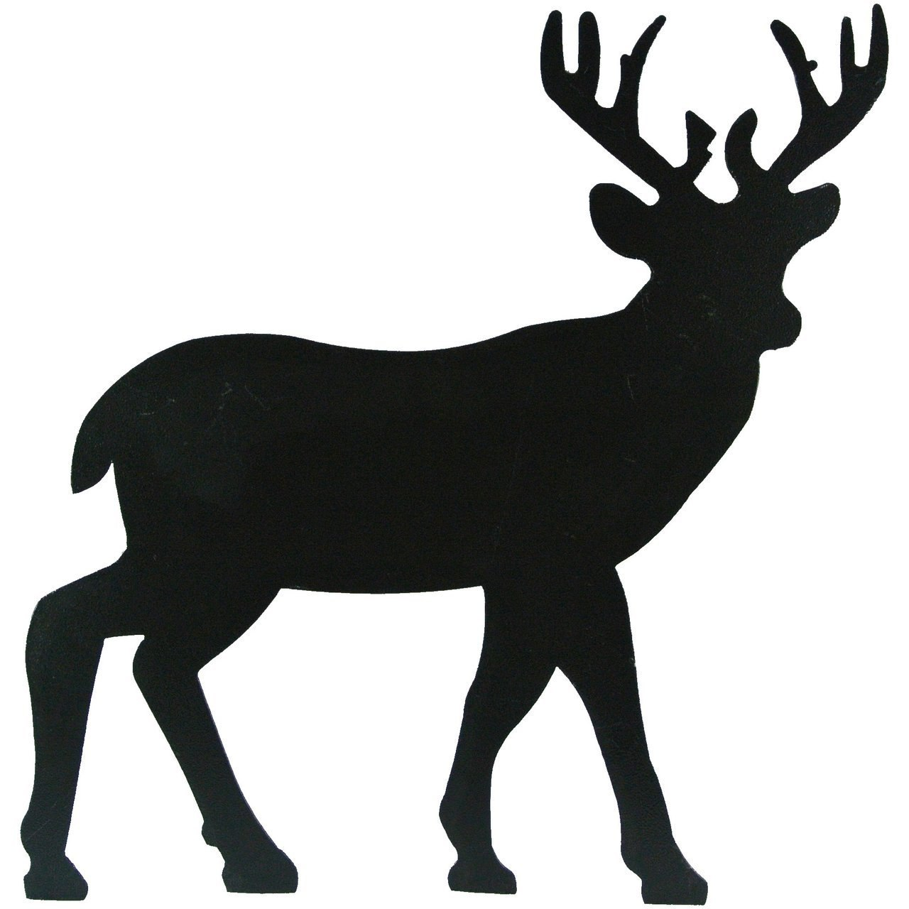 1280x1280 Metal Deer Silhouette Wallhanging