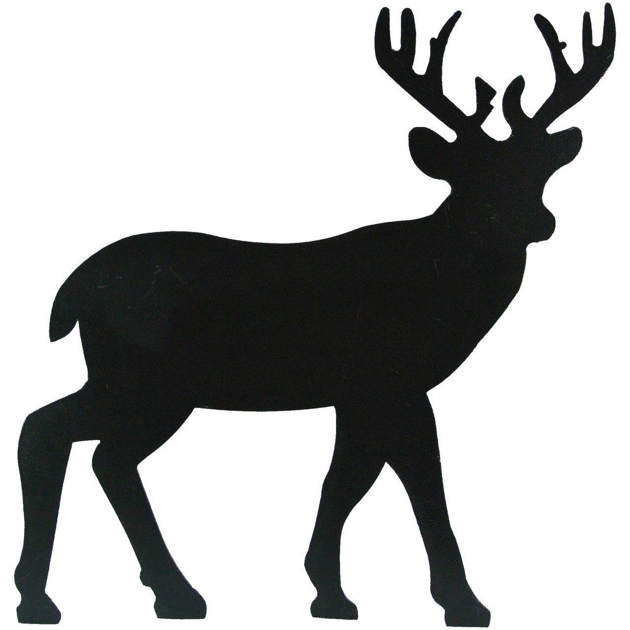 1280x1280 Metal Deer Silhouette Wallhanging