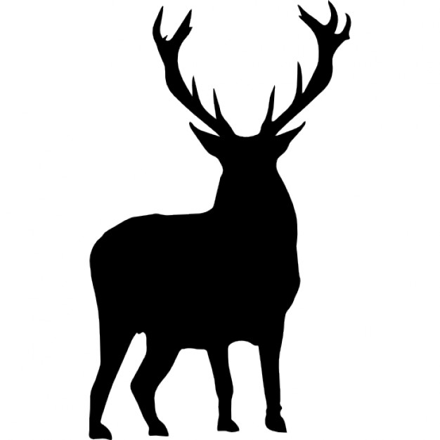 626x626 Deer Silhouette Icons Free Download