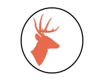 340x270 Deer Head Pdf Etsy