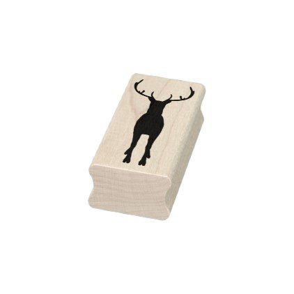 422x422 Reindeer Silhouette Art Stamp Reindeer Silhouette And Silhouette Art