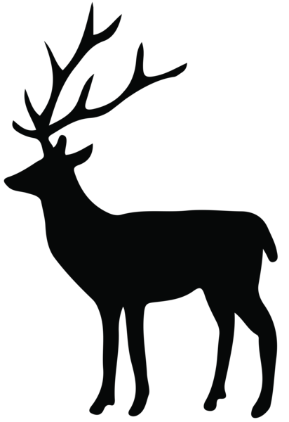412x600 Deer Silhouette Png Transparent Clip Art Image Vorlagen