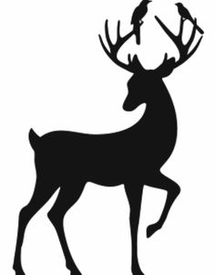 236x301 Deers Silhouettes Silhouettes And Antlers Clipart