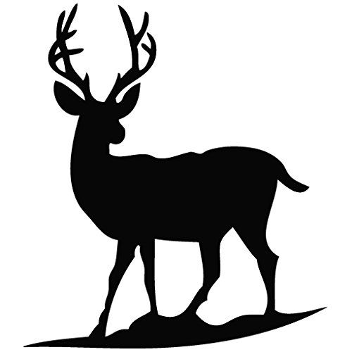 500x500 Deer Silhouette