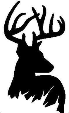 236x384 Deer Silhouette