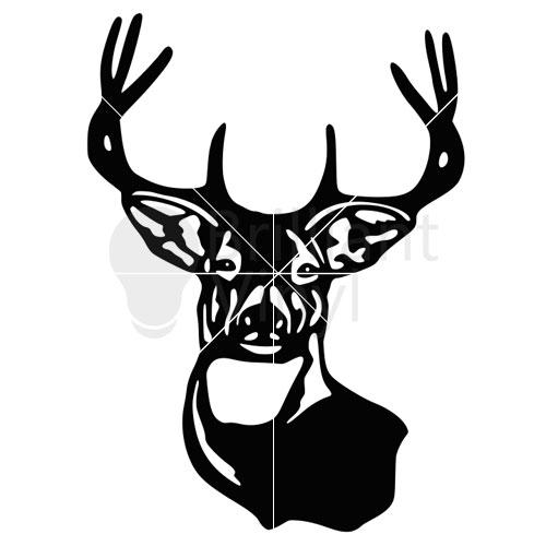 500x500 Deer Head Svg File Deer Head Cricut Brilliant Vinyl