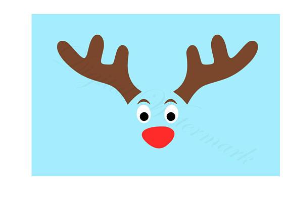 570x415 Deer Face Svg Amp Studio 3 Cut File Cutouts Files Logo Stencil
