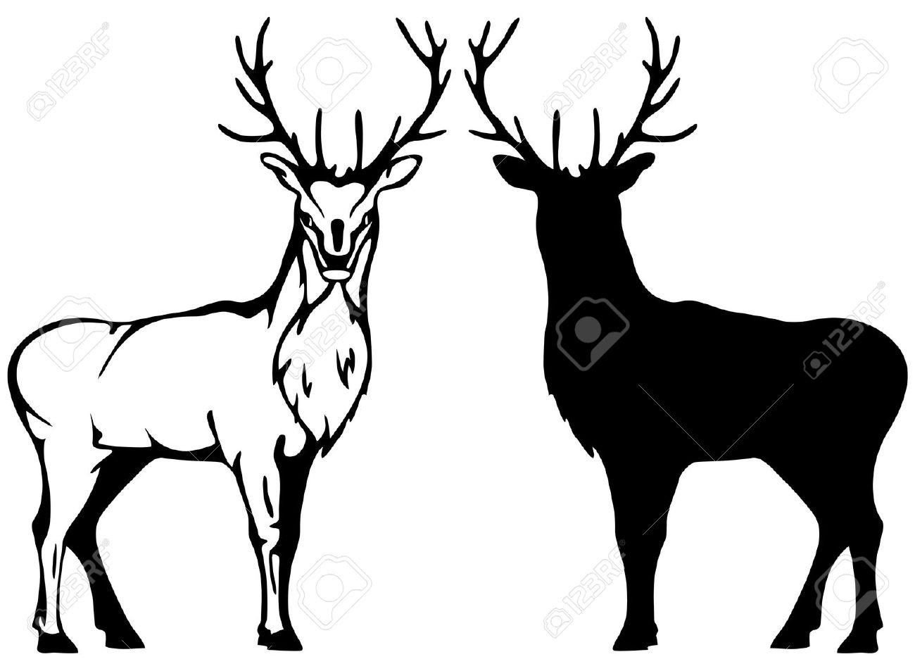 deer silhouette vector at getdrawings com free for personal use rh getdrawings com deer head silhouette vector deer head silhouette vector
