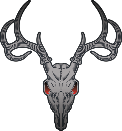 Deer Skull Silhouette Vector