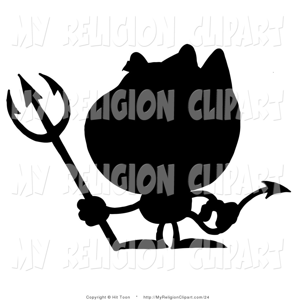 1024x1044 Religion Cliprt Of Solid Black Silhouette Of Devil