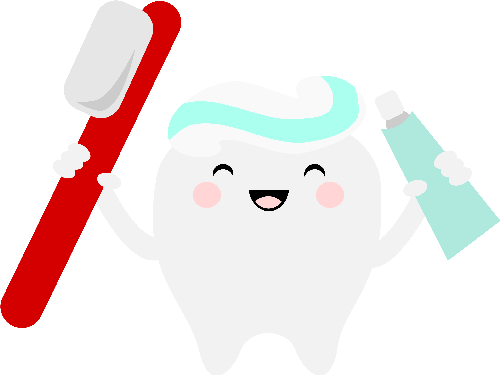500x375 Free Svg Files For Silhouette Kawaii Tooth Cricut