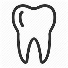225x225 Image Result For Svg Tooth Outline Cricut Outlines