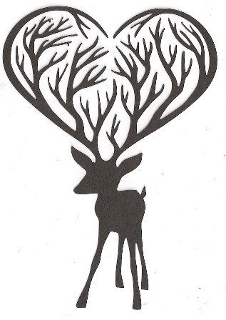 317x448 211 Best Deer Images On Silhouettes, Pyrography And Deer