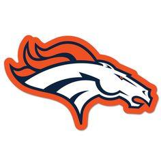 236x236 Bronco Football Logos Black Cad Cut Denver Broncos Primary Logo