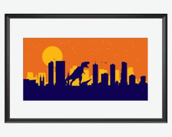 340x270 Denver Skyline Print Robots Print Robots Posters Robots