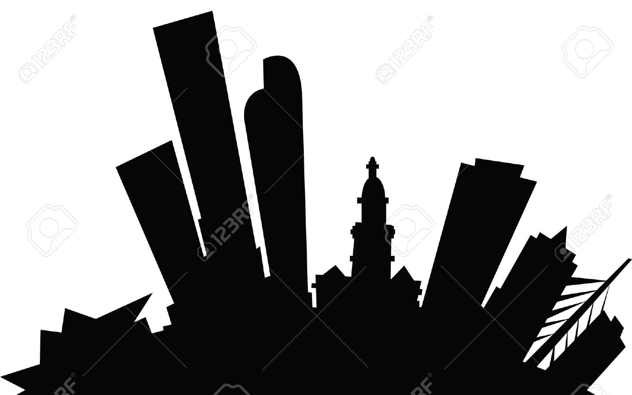 1300x812 Denver Skyline Outline
