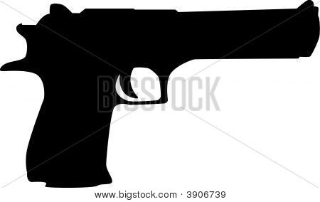 450x284 19 9 Gun Silhouette Vector Images