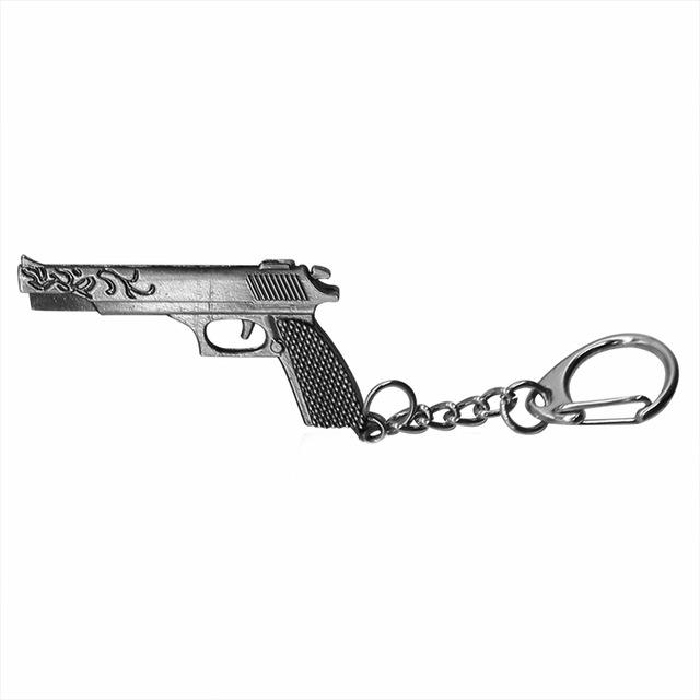 640x640 Fashion Simulation Desert Eagle Pistol Keychain 3d Gun Key Chain