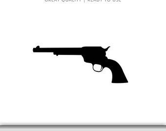 340x270 Pistol Silhouette Etsy
