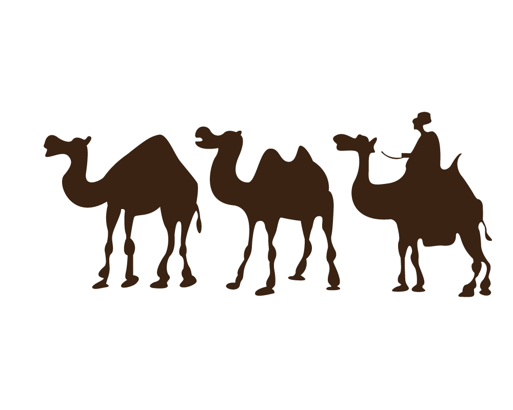 1000x800 Camel Desert Drawing Clip Art