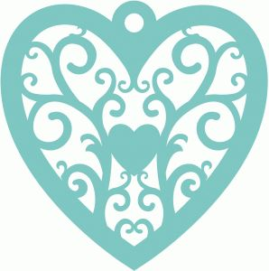 298x300 628 Best Coeur Images On Silhouette Design, Hearts