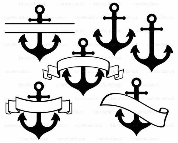 570x456 Anchor Svganchor Clipartanchor Svganchor Silhouetteanchor