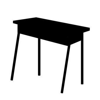 340x340 Free Cliparts Silhouette, Desk, Computer