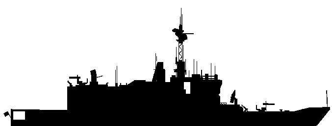 Destroyer Silhouette