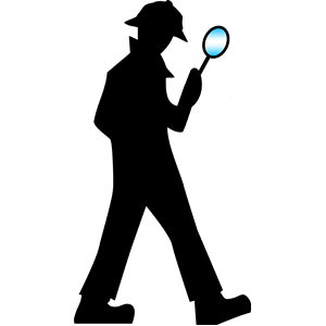 300x300 Detective With Magnifying Glass Clipart, Cliparts Of Detective