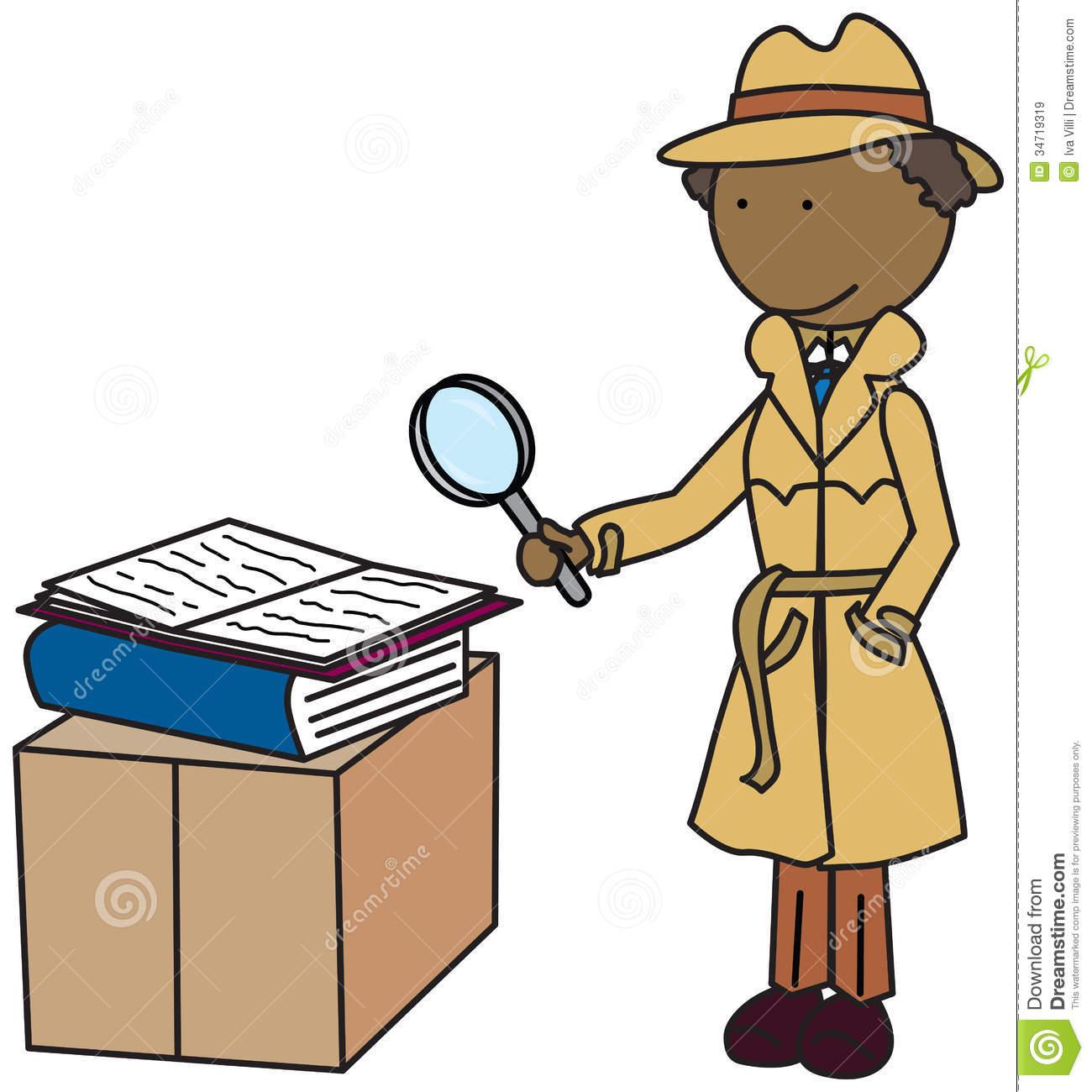 1300x1300 Kid Detective Silhouette