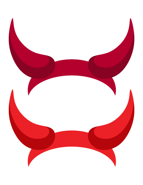 458x593 Printable Devil Horns Photo Booth Prop. Create Diy Props With Our
