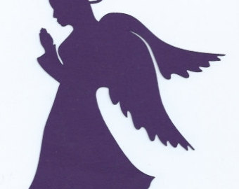 340x270 Items Similar To Devil Or Angel Silhouette