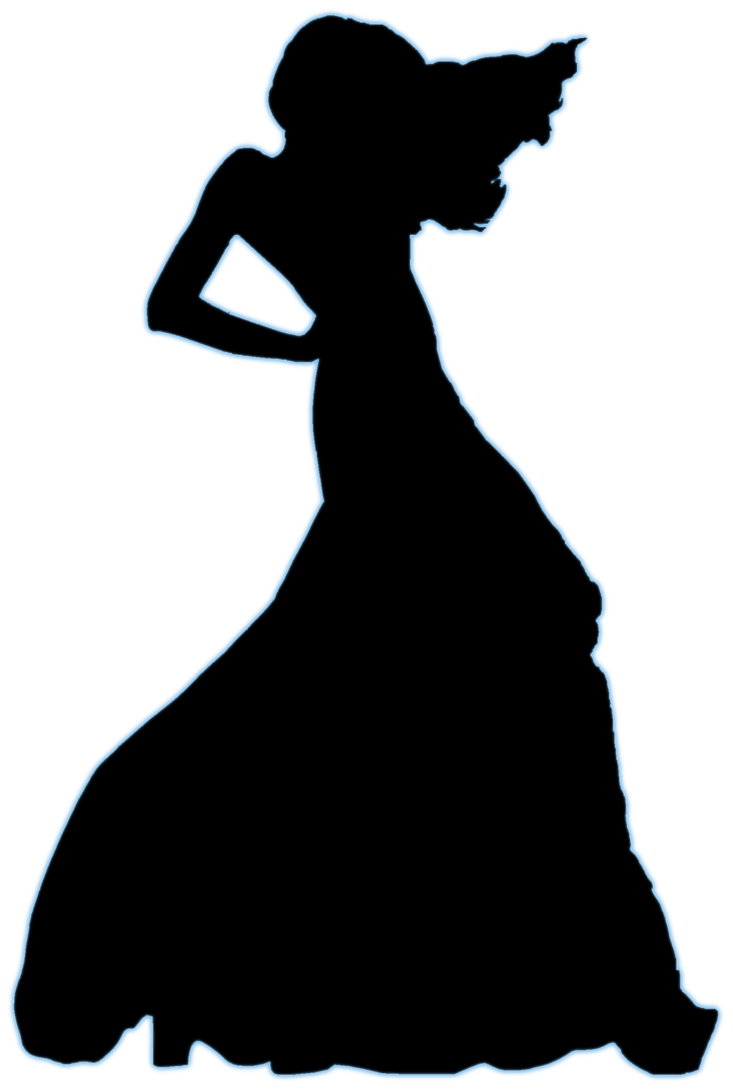 733x1091 Model Silhouette Stock By Devil Thedeviant