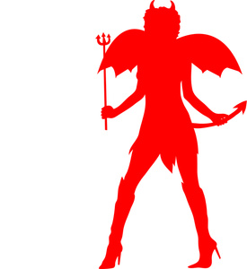 275x300 Free Devil Clipart Image 0515 1010 1002 1918 People Clipart