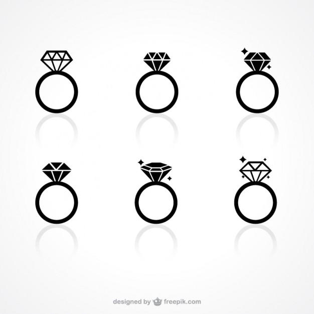 626x626 Drawn Diamonds Silhouette