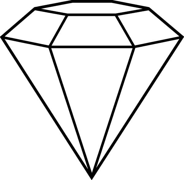 600x588 Popular Diamond Shape Cut Coloring Pages Adult Coloring Pages