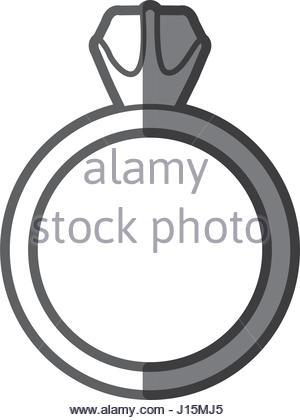 300x420 Ring Silhouette Illustration Stock Vector Art Amp Illustration