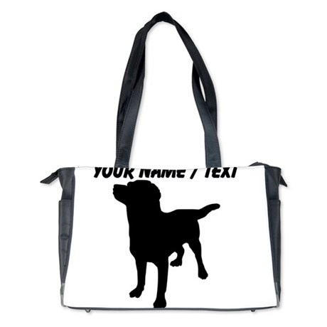 460x460 Dog Silhouette Diaper Bags, Dog Silhouette Baby Diaper Bags