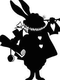 195x258 Alice In Wonderland Silhouettes Printables And Paper Sorts