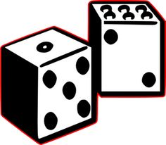 236x206 Dice Svg File Paper Crafting