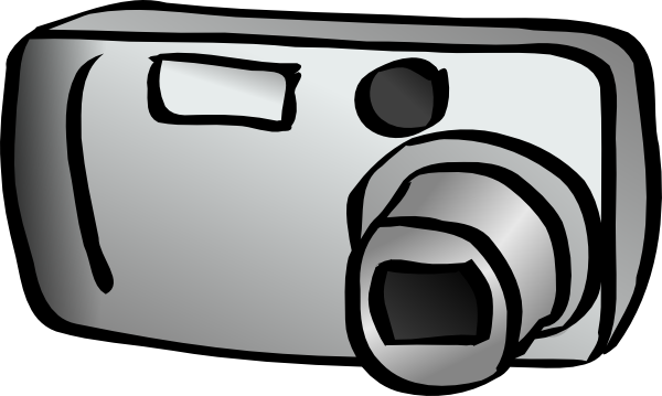 600x359 Digital Camera Clip Art Free Vector 4vector
