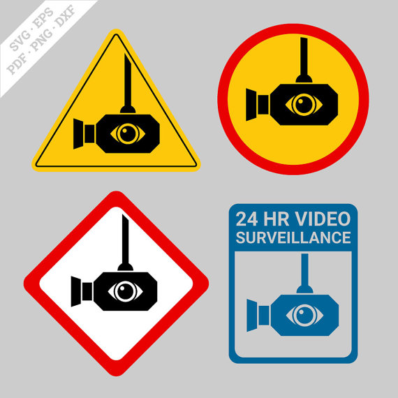 570x570 Surveillance Camera Svg Digital Surveillance Camera Svg Clipart