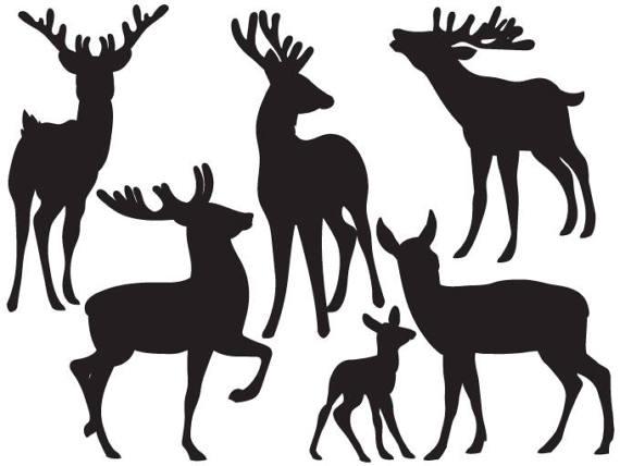 570x428 Item Deers Silhouette