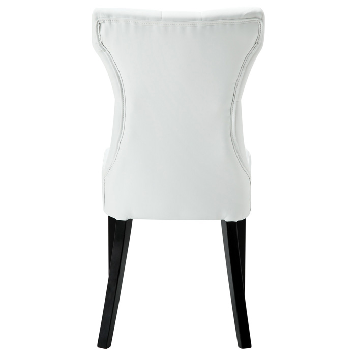 700x700 Silhouette Button Tufted Dining Chair