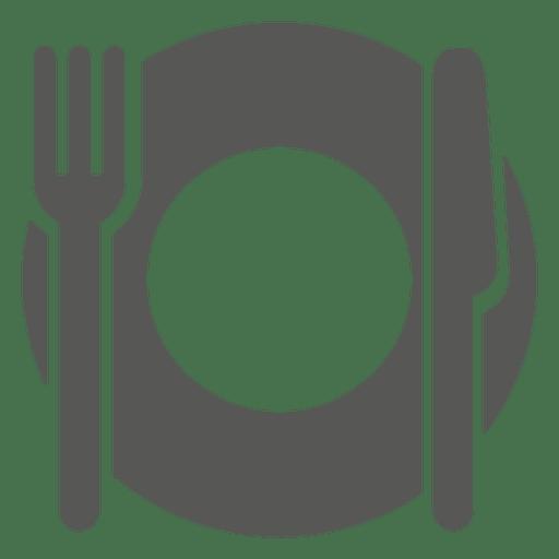 512x512 Empty Dinner Plate Icon