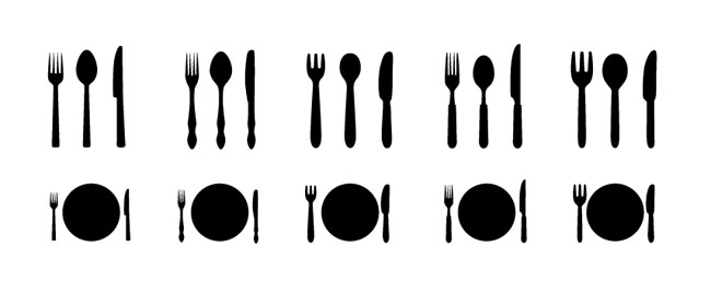 650x268 Iammisc Dinner Plate With Spoon And Fork Clip Art Free Vector